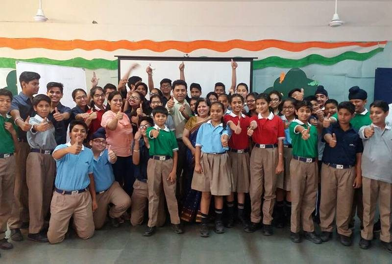 Personality Development for students of  IWS Ludhiana campus
