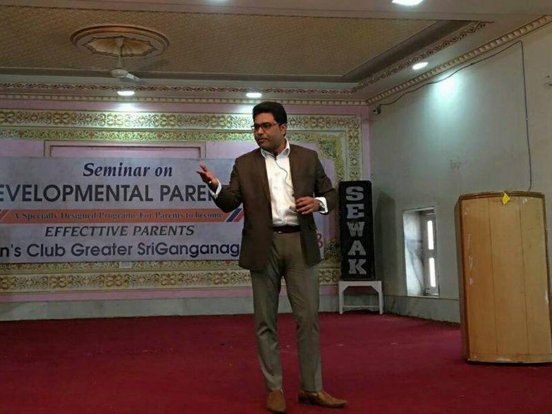 Session On Developmental Parenting in Ganganagar