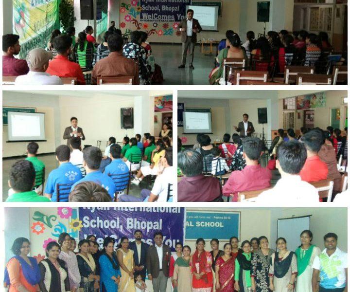 Session on Developmental Parenting at Ryan International School, Bhopal