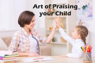 Art of Praising your Child